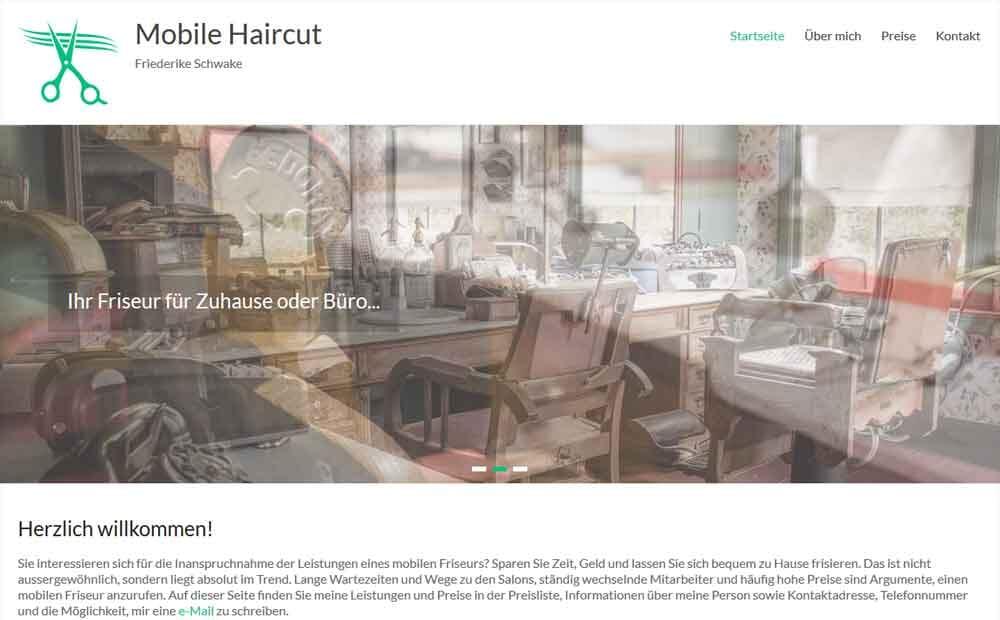 Mobile Haircut